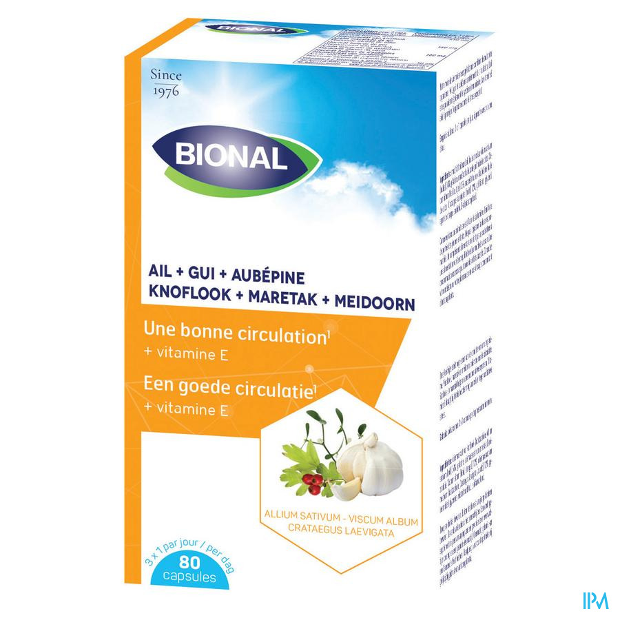 Bional Look-maretak-meidoorn-vit E Capsule 80  -  Ocebio