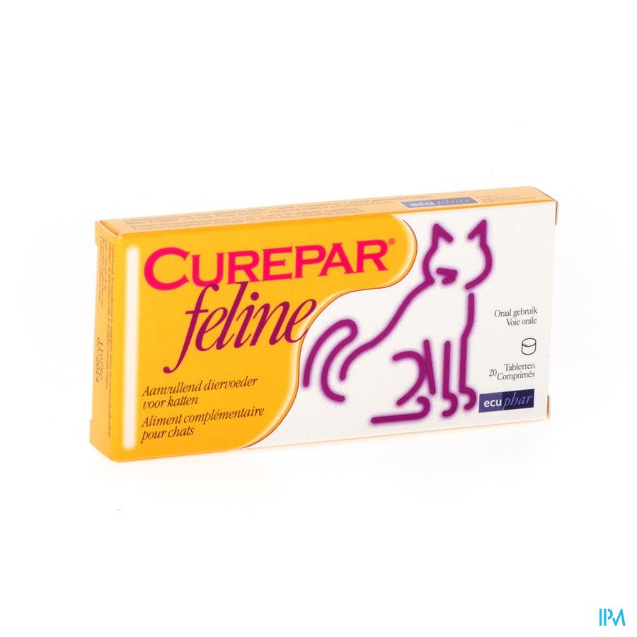 CUREPAR FELINE                     COMP 20