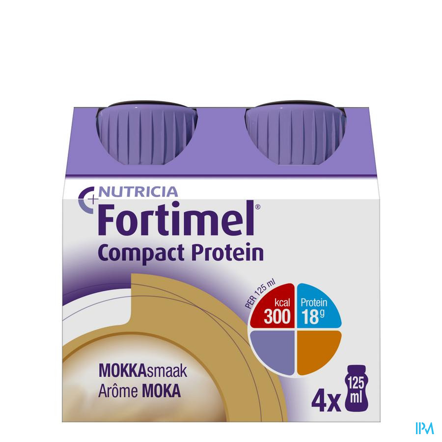 Fortimel Compact Protein Mokka 4x125ml