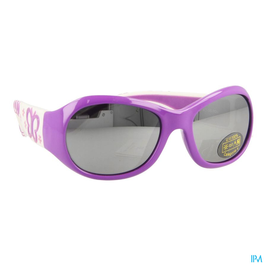 Jungle Zonnebril Kids Purple Butterf.girl 2-4j