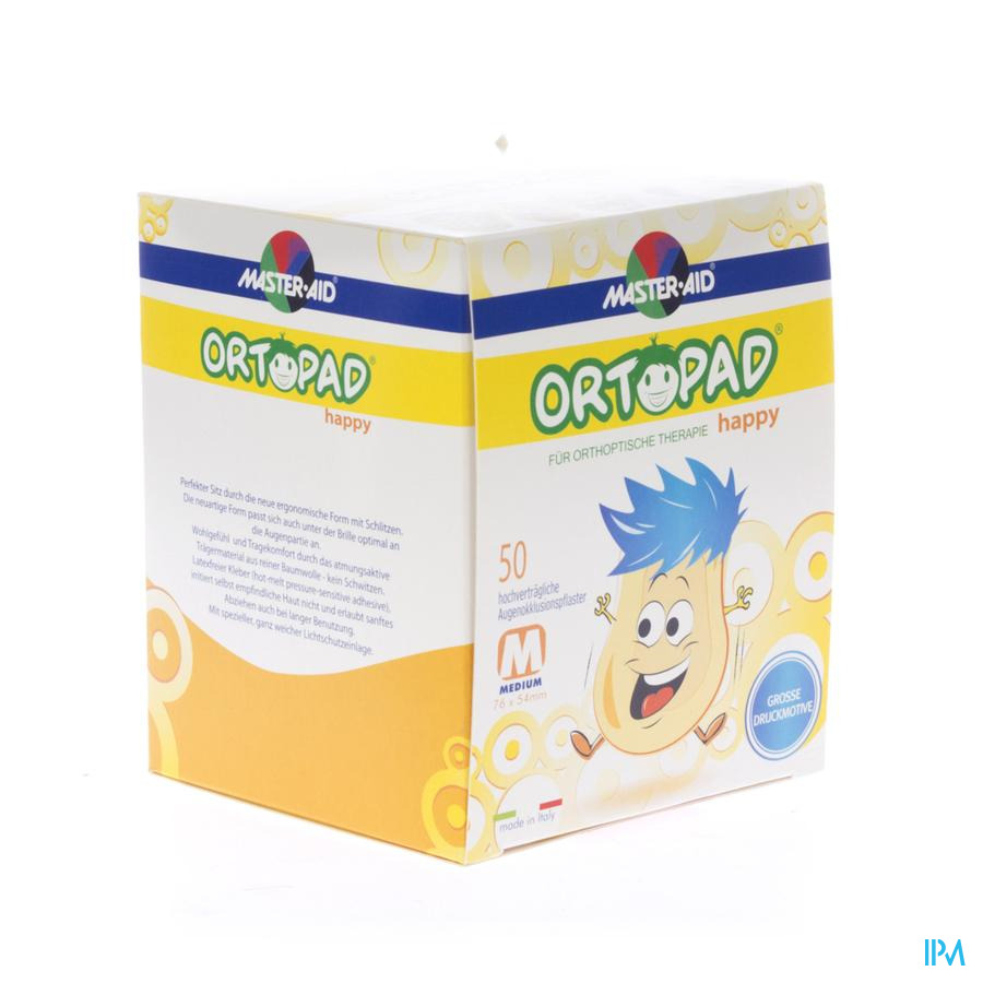 Ortopad Happy Medium Cp Ocul. 50 70132