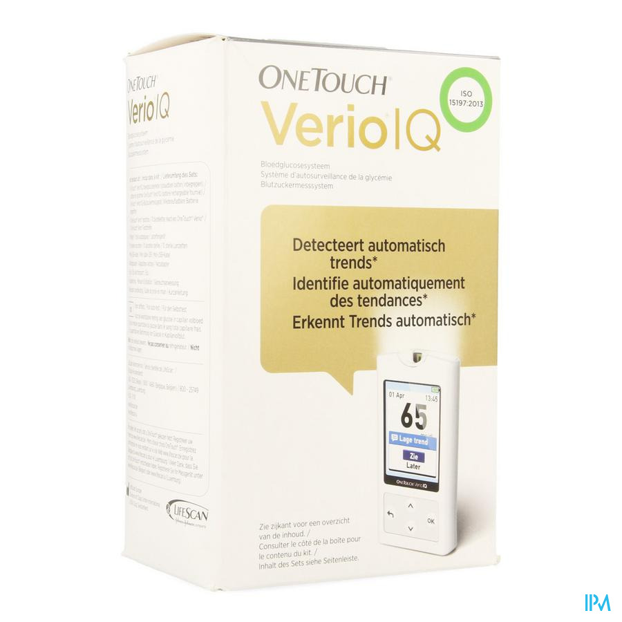 OneTouch Verio IQ Bloedglucosesysteem