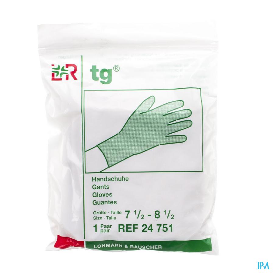 Tg Gant 100% Coton Moyen 7,5-8,5 (paire) 24751