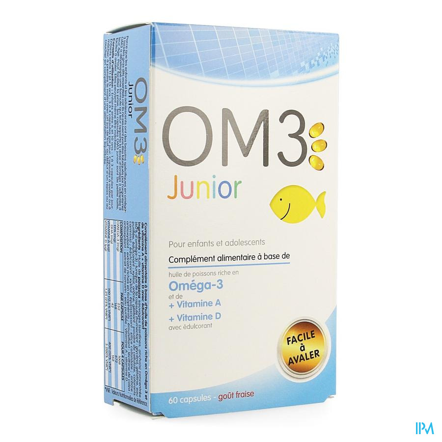 Om3 Junior Blister Caps 60