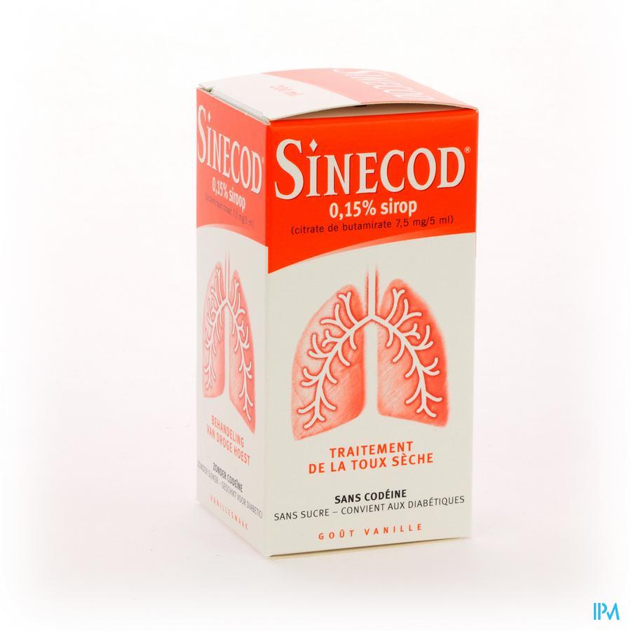 Sinecod 0,15% Sirop 200ml