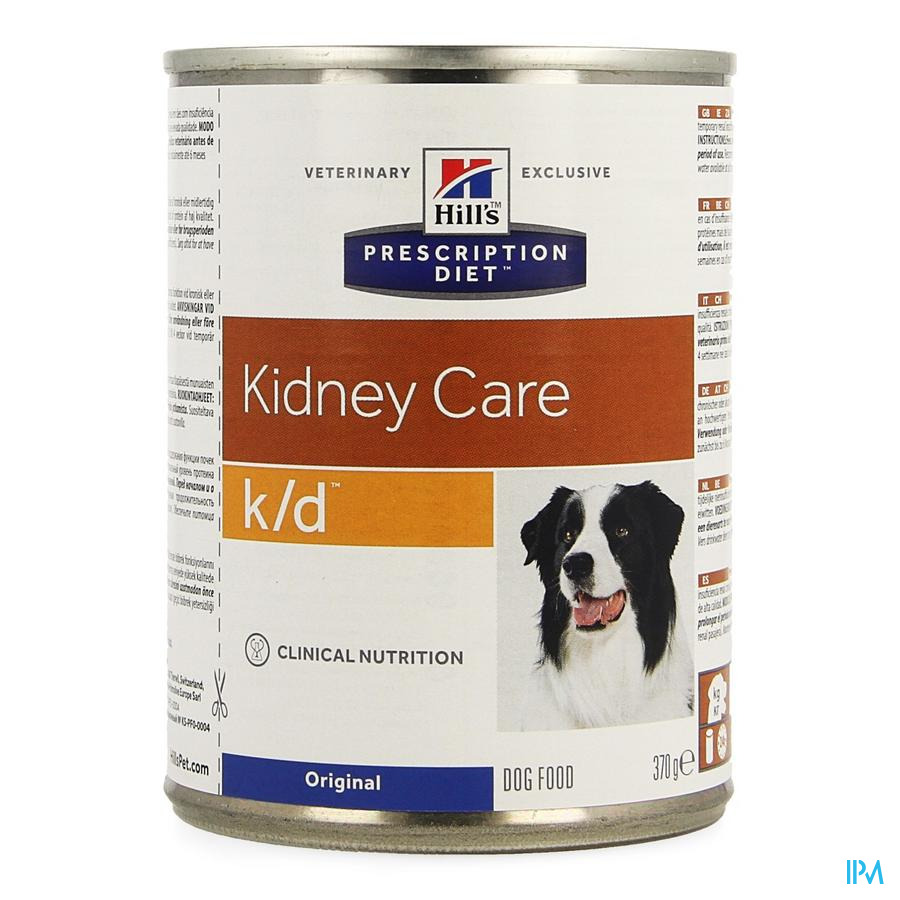 Hills Prescrip.diet Canine Kd 370g 8010u