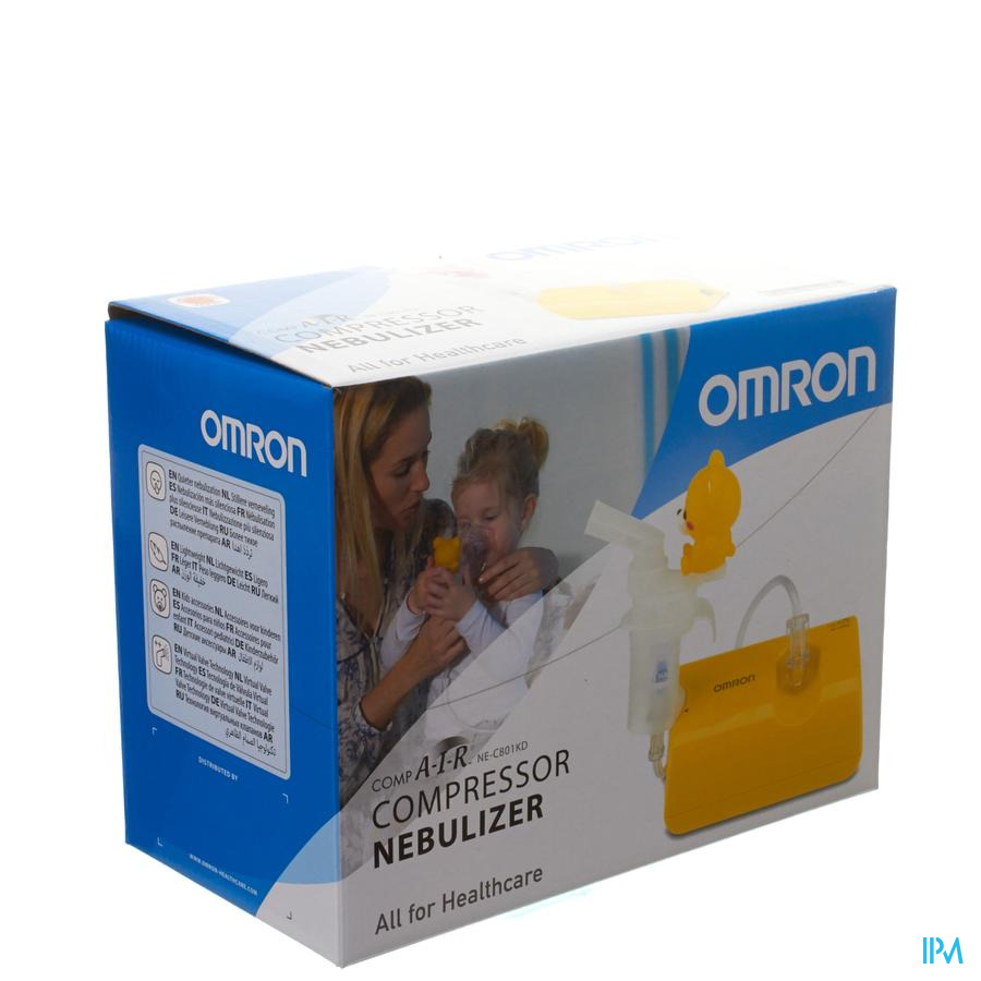 Omron Compair Ne-c801kd Nebuliseur Compresseur