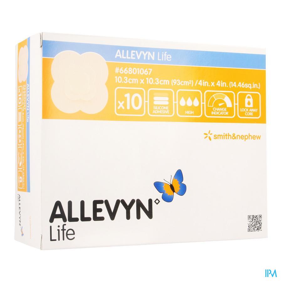 Allevyn Life Verb 10,3x10,3cm 10 66801067