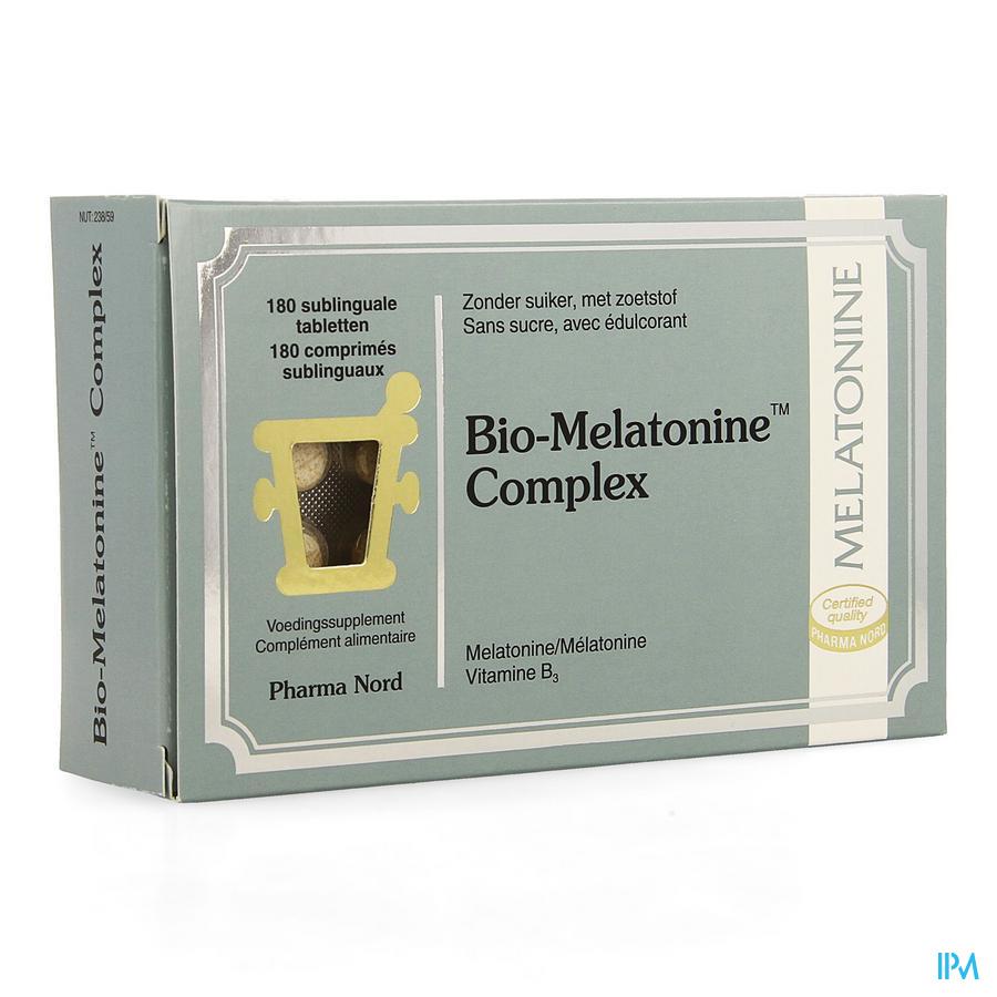 Bio-melatonine Complex Comprimés 180