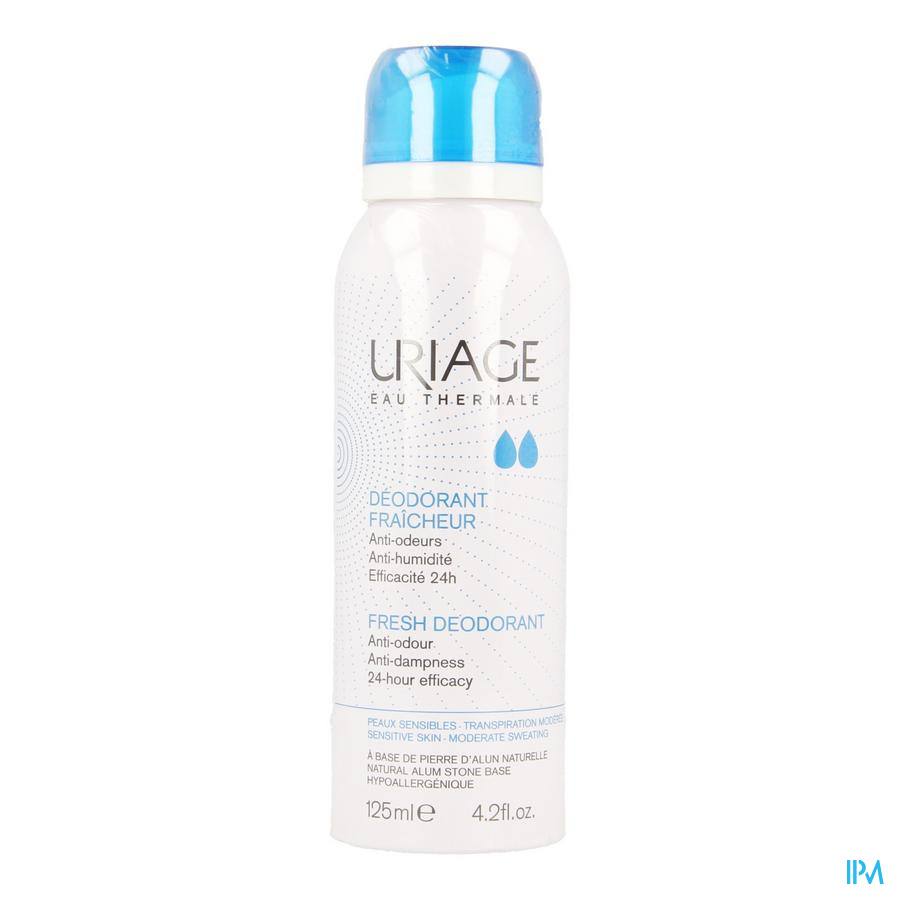 Uriage Deo Fris Gev H Spray 125ml