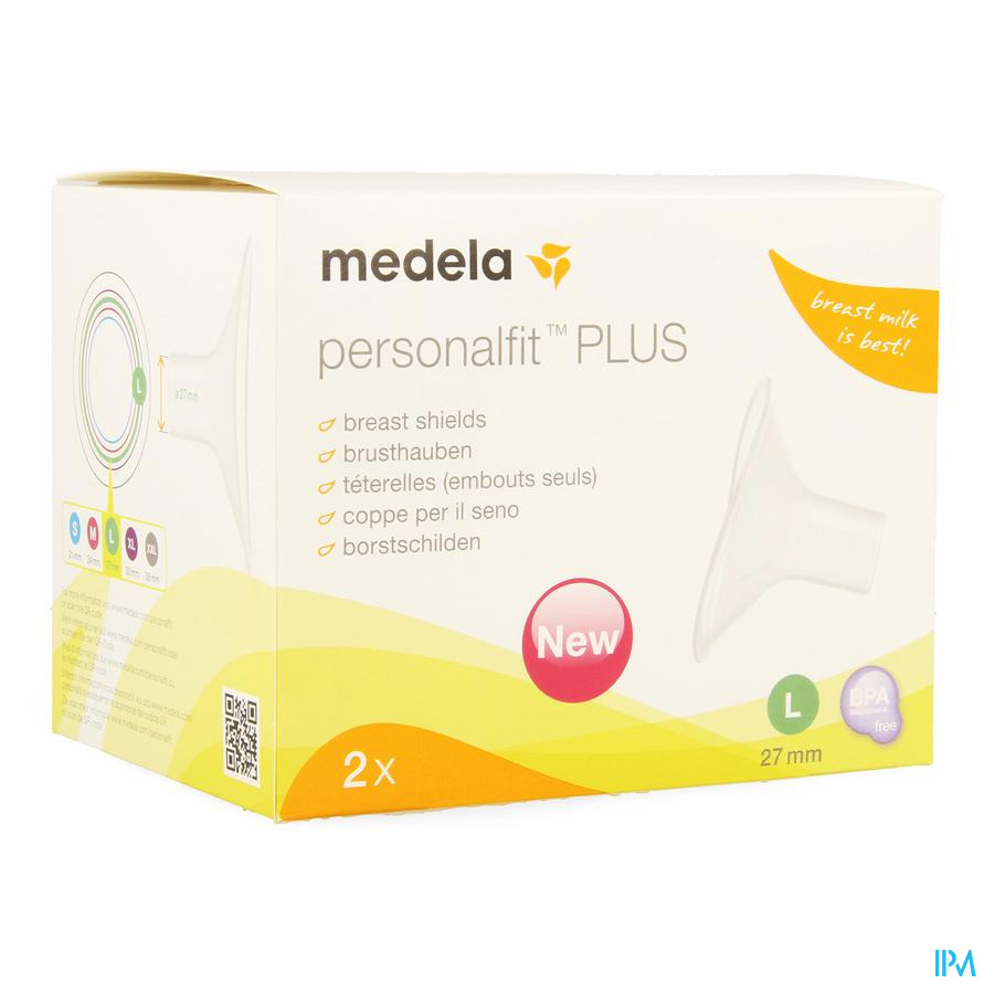 Medela Borstschild Personal Fit Plus l 27mm 1p