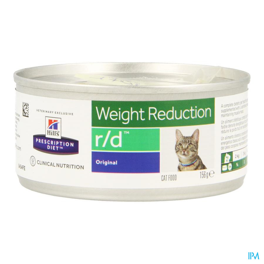 Hills Prescrip.diet Feline Rd Minced 156g 9454fe