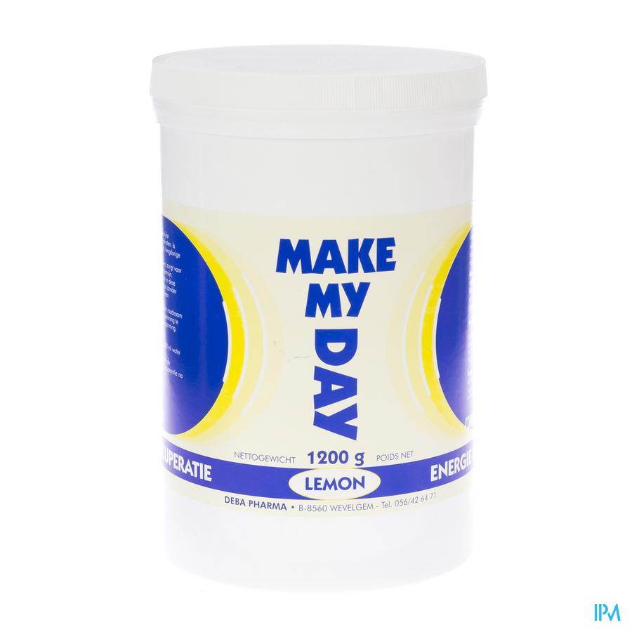Make My Day Citroen Pdr Oplosbaar 1200g Deba