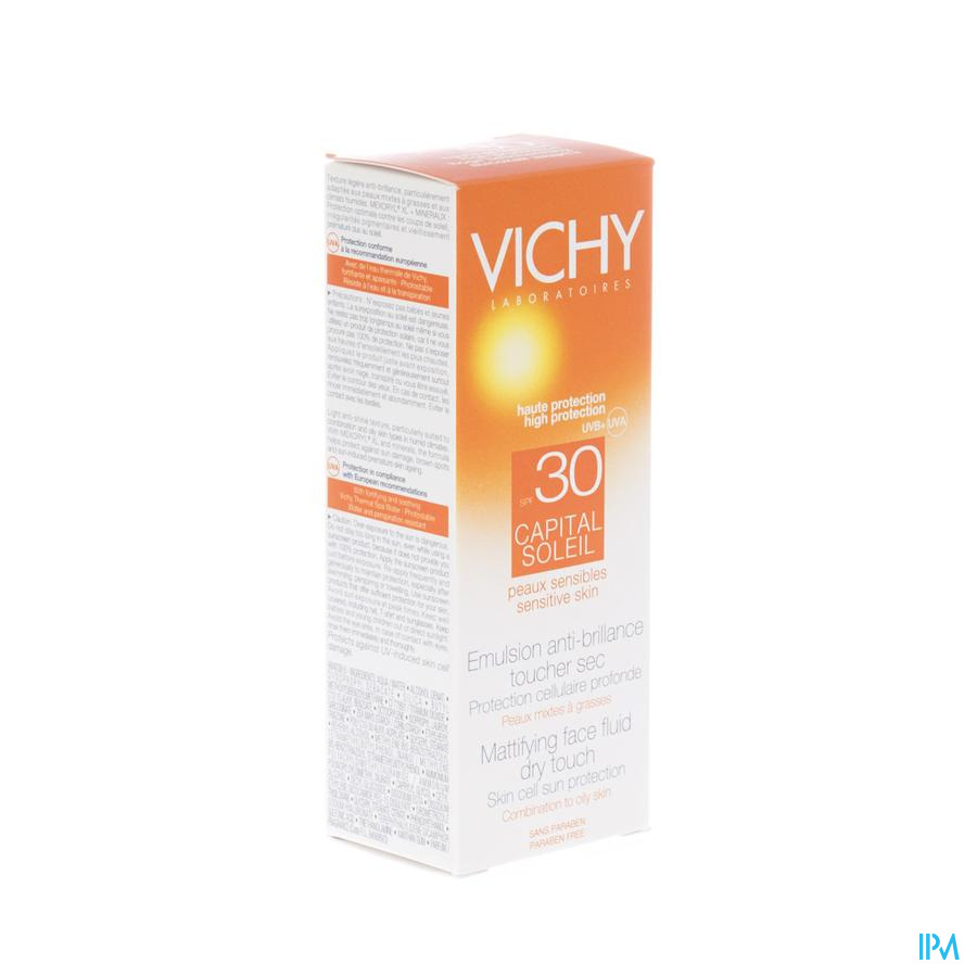Vichy Cap Sol Ip30 Cr Vis Dry Touch 50ml