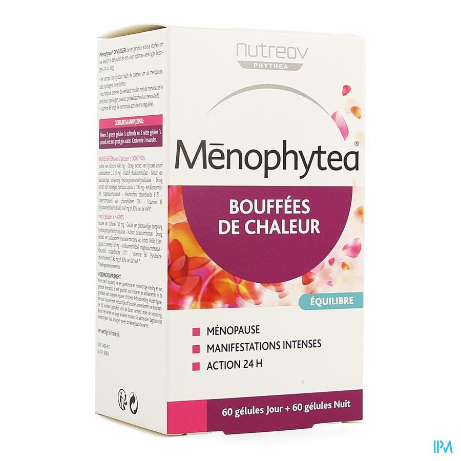 Menophytea Bouffees Chaleur Jour/nuit Caps 120