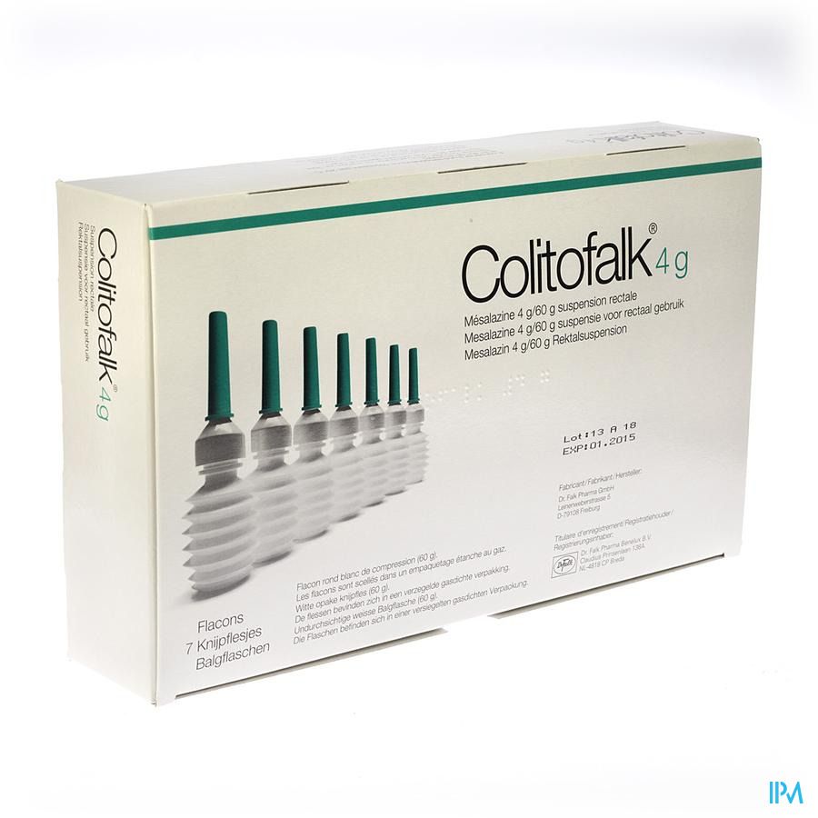 Colitofalk Lavement 7x4g/60g