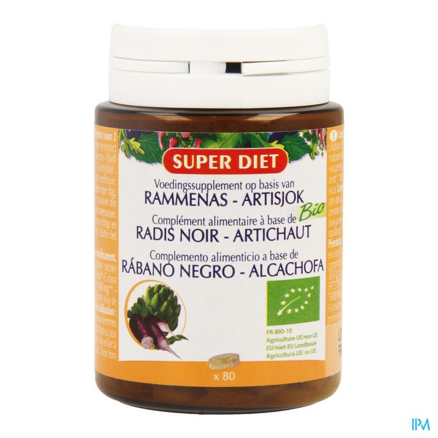 Super Diet Rammenas-artisjok Bio Comp 80