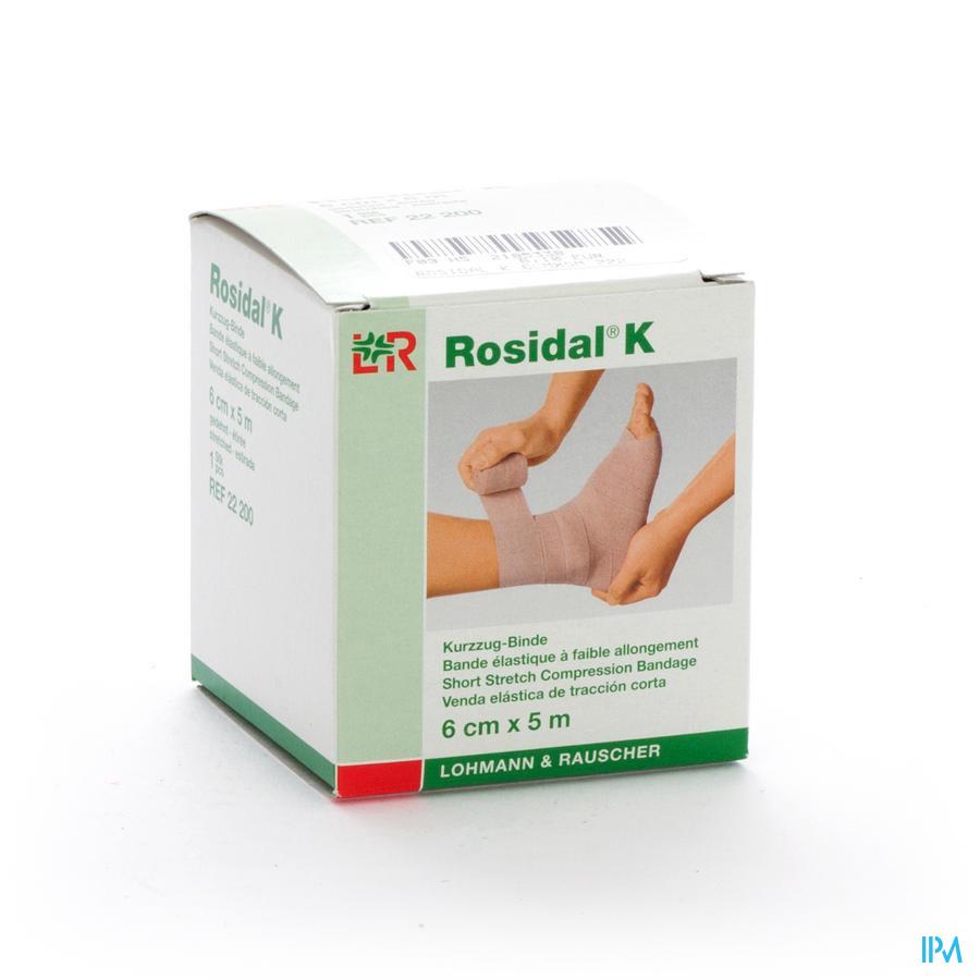 Rosidal K Elastische Windel 6cmx5m 22200 - Lohmann & Rauscher