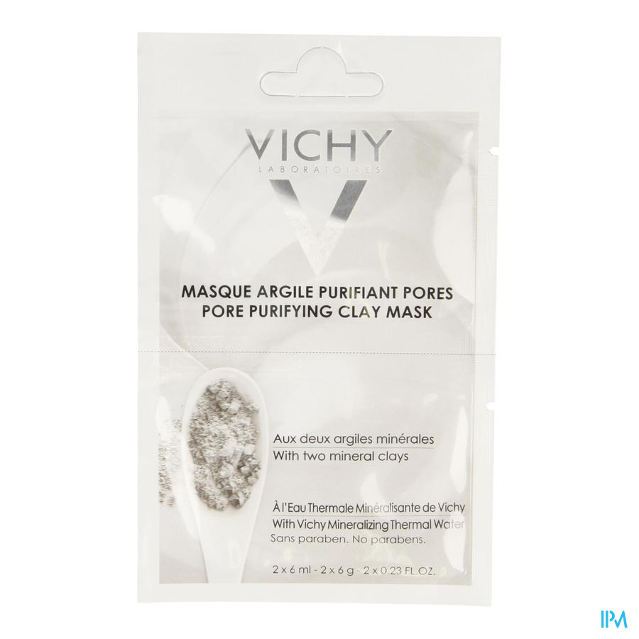 Vichy Purete Thermale Argile Pur Masque 12ml