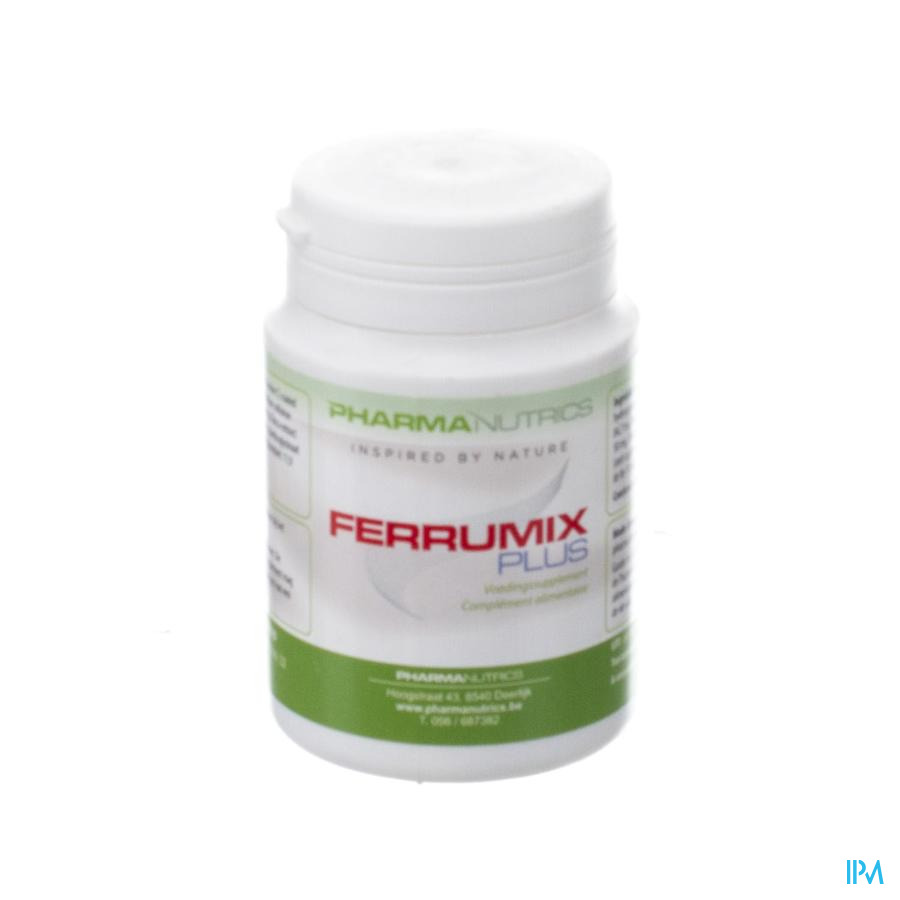 Ferrumix Plus V-caps 60 Pharmanutrics