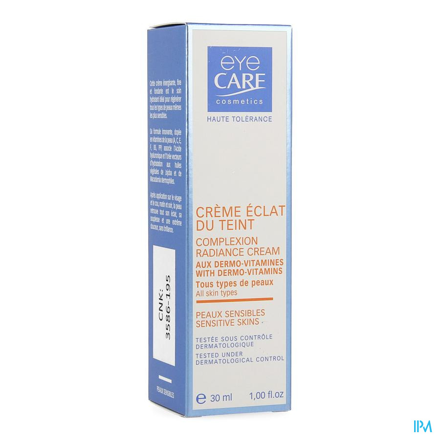 Eye Care Creme Stralende Teint 30ml