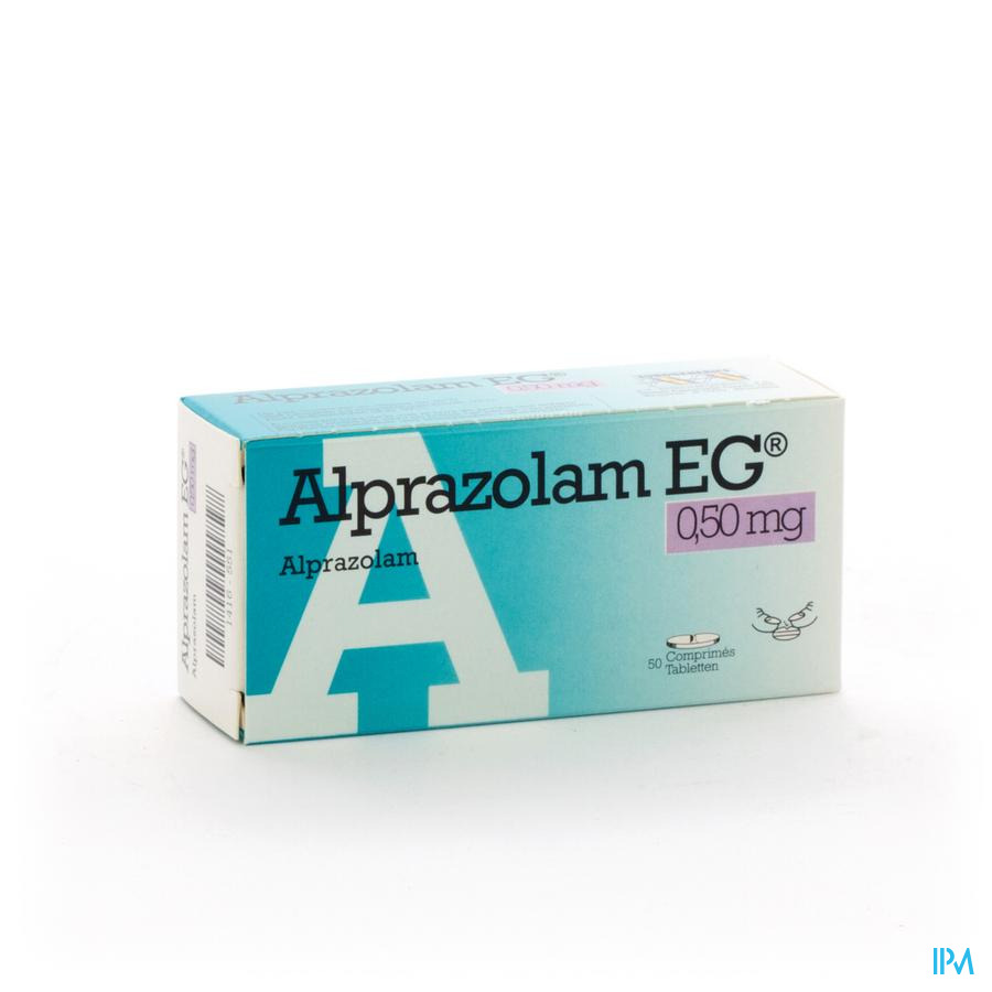 Alprazolam Eg Comp 50 X 0,50mg
