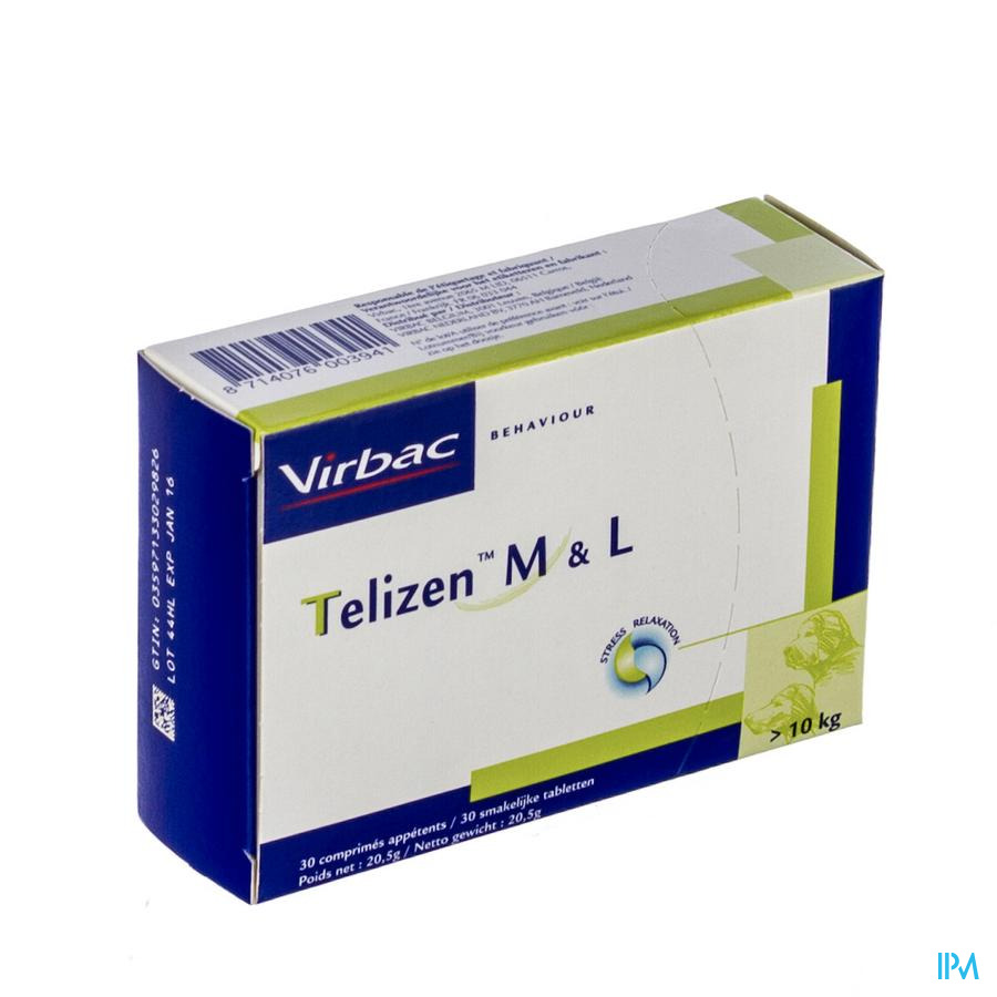 TELIZEN M&L HOND-KAT   COMP 30X100MG