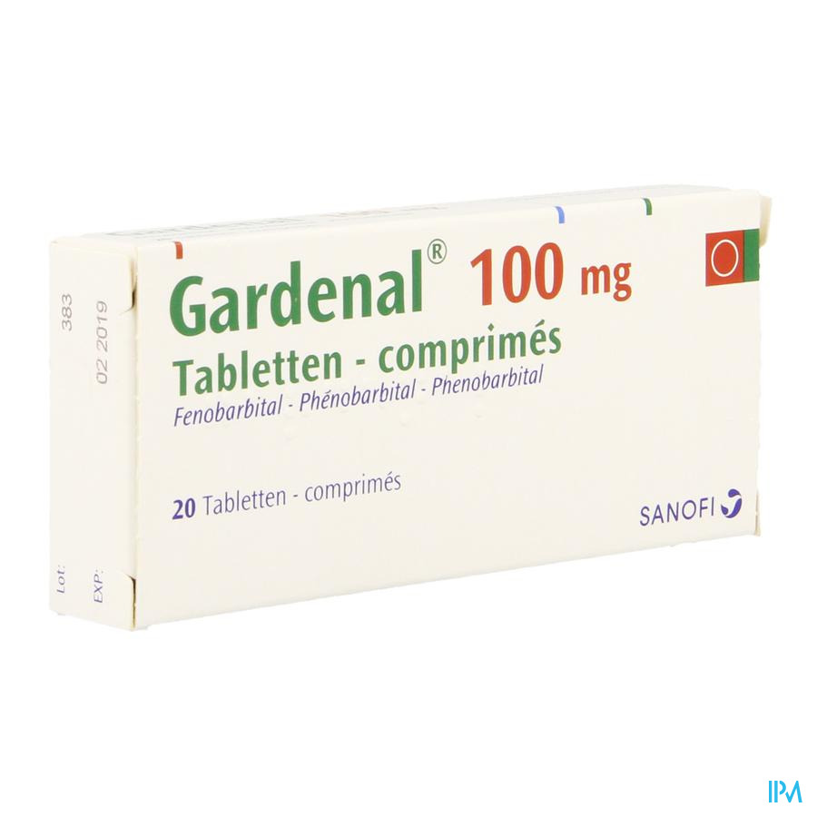 Gardenal Comprimés 20x100 mg
