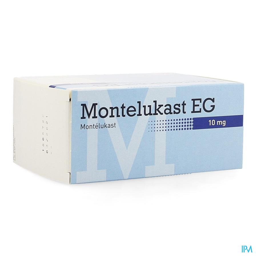 Montelukast Eg 10mg Comp Pell 98 X 10mg
