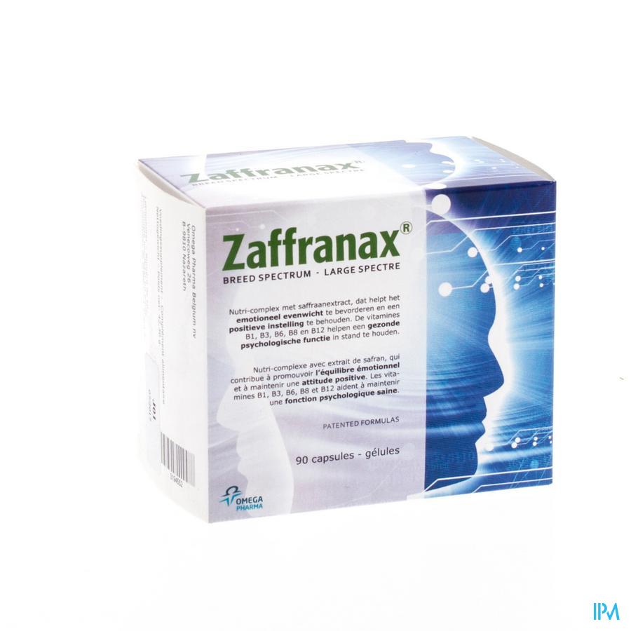 Zaffranax Caps 90