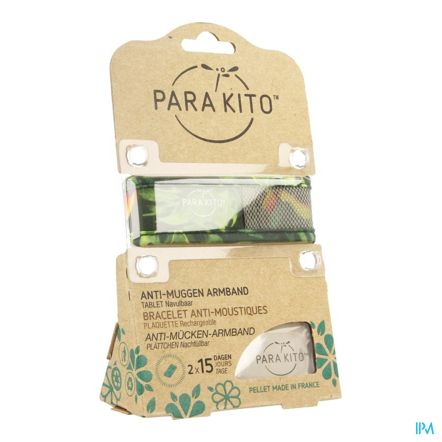 Para'kito Wristband Graffic Jun&trop Tropical