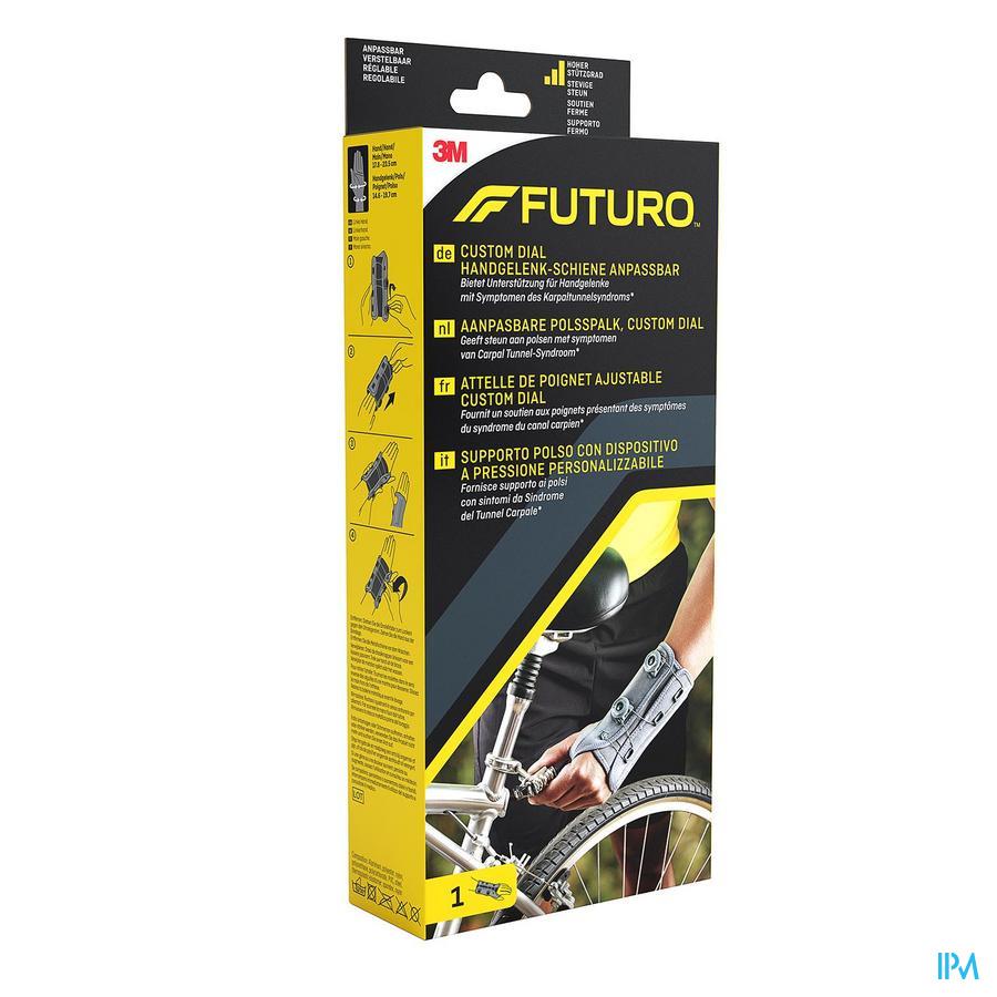 Futuro Polsspalk Custom Dia 611612, Linkerhand, Aanpasbaar