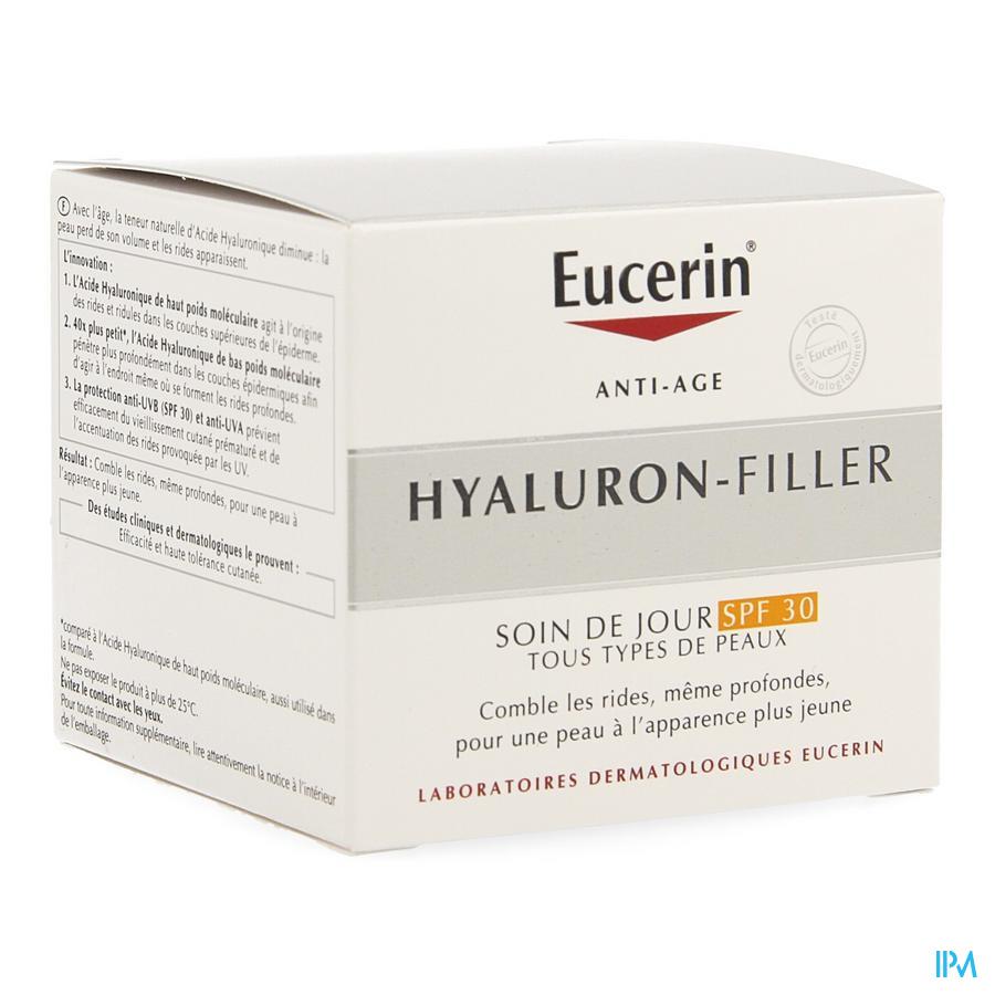 Eucerin Hyaluron Filler Soin Jour Ip30 50ml