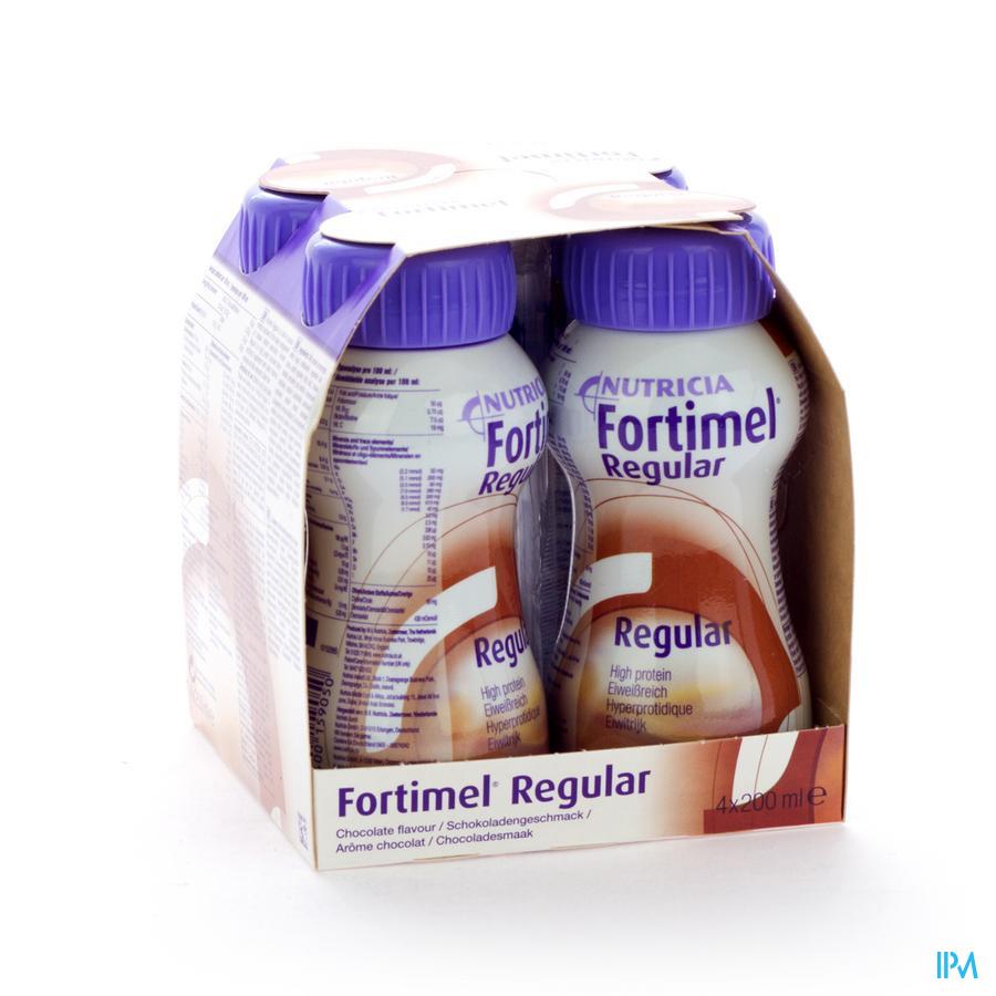 FORTIMEL REGULAR CHOCOLADE 4X200ML