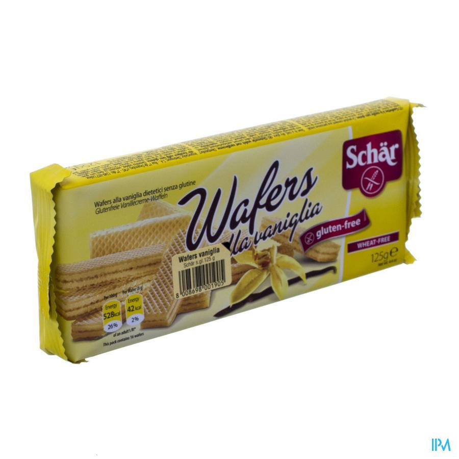 Schar Wafels Vanille 125g 6513