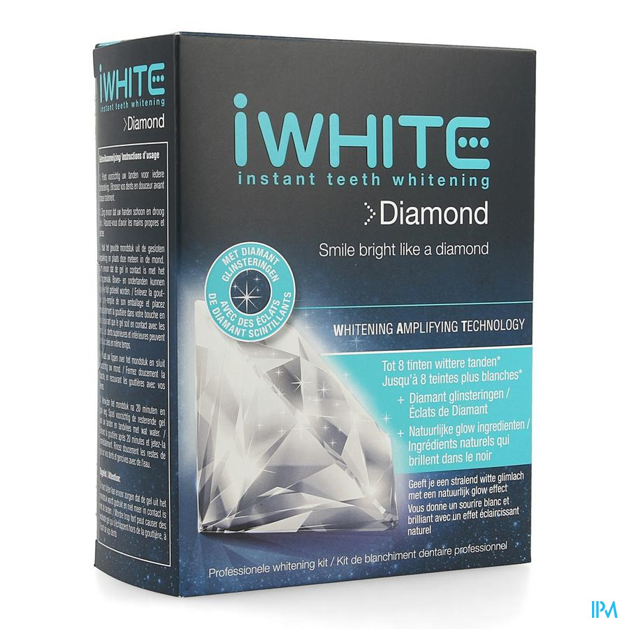 Iwhite Diamond Mondstuk Gel 10x0,8g