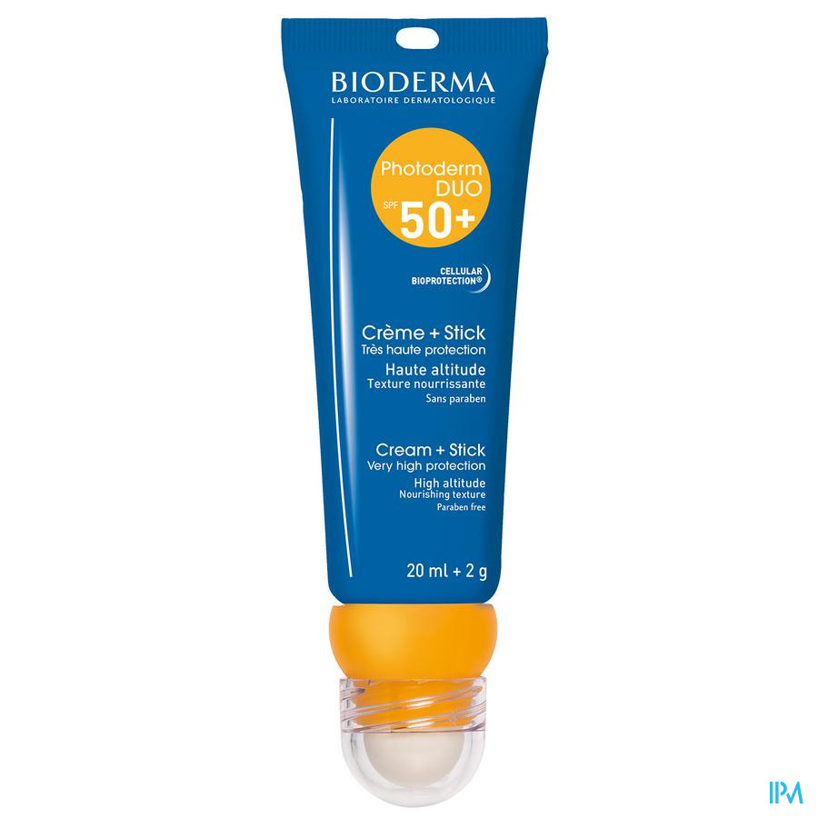 Bioderma Photoderm Duo Ip50+ Cr 20ml + Stick 2g