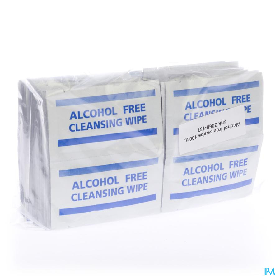 Alcohol Free Swabs 100 Covarmed
