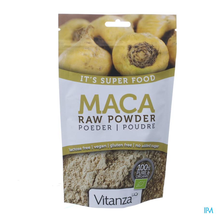 Vitanza Hq Superfood Maca Raw Bio Poeder 200 gr