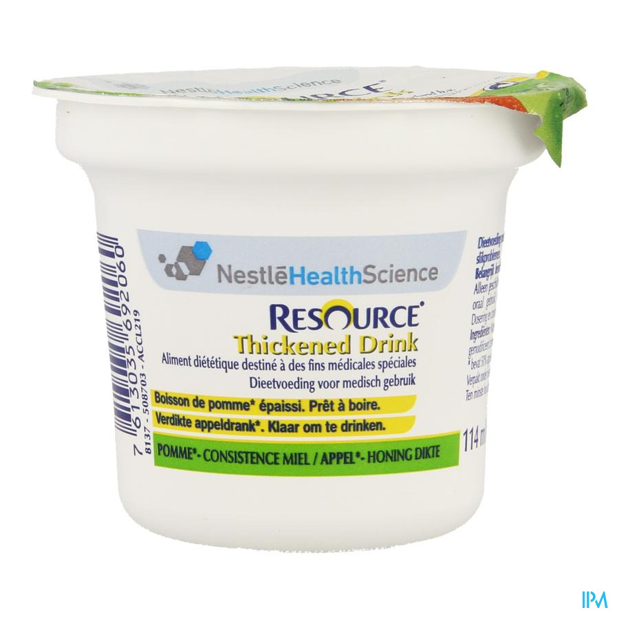 Resource Thickened Drink Appel 114 ml