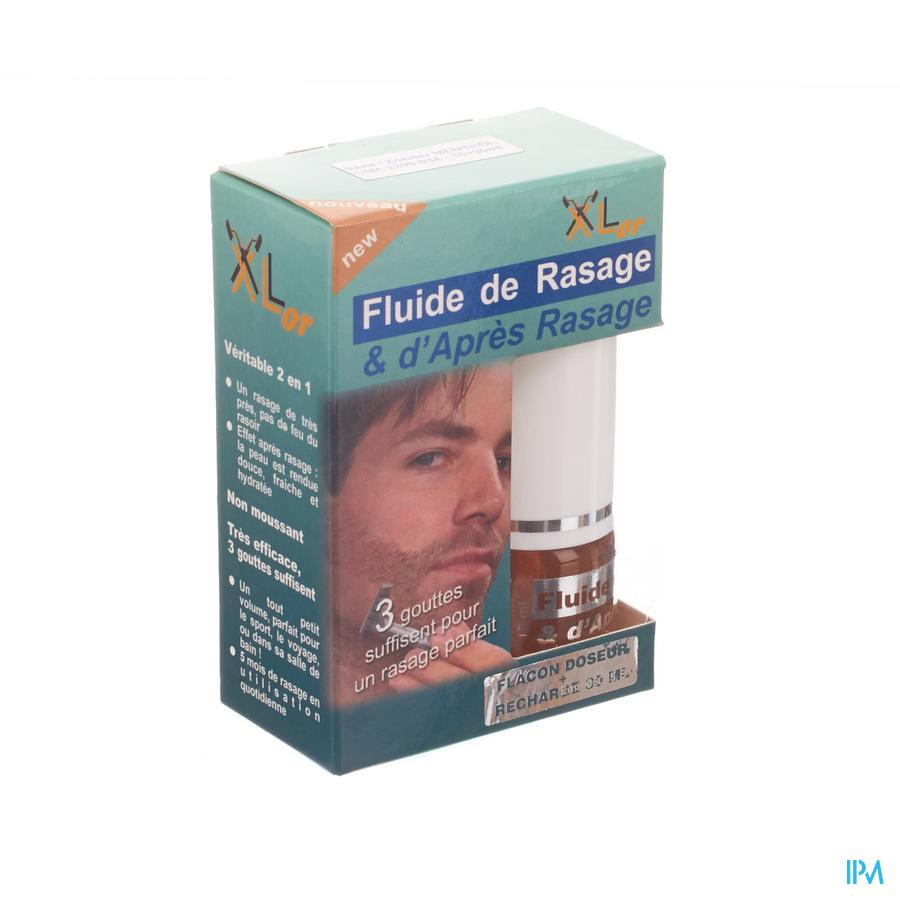 Xlor Fluide Rasage Apr.ras. 2en1 S/menthol 15+30ml