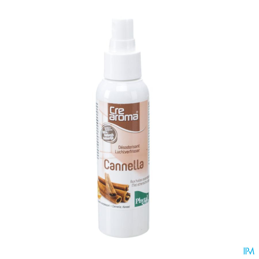 Crearoma Cannella Luchtverfris.ess Olie Spray125ml