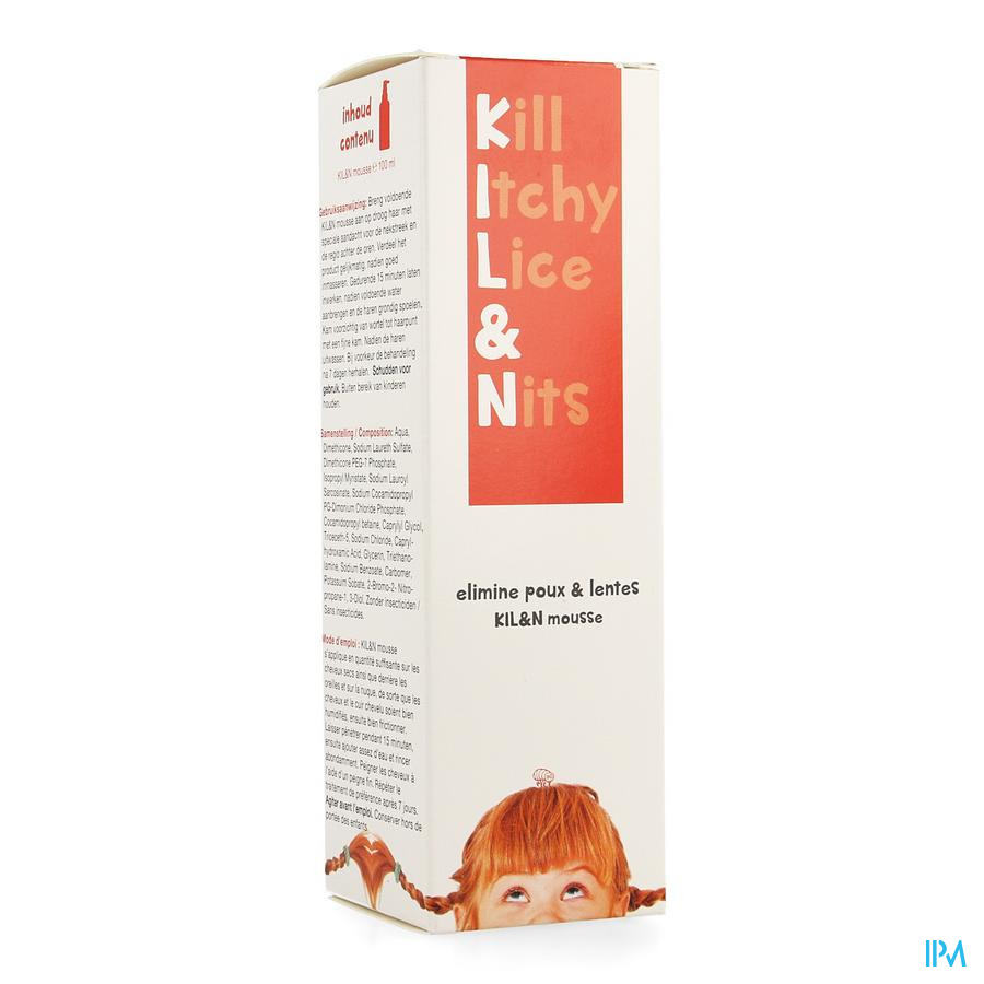 Kil&n Shampoo A/luizen Mousse 100ml