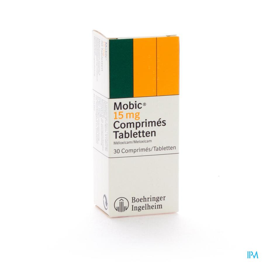 Mobic Tabl 30x15mg