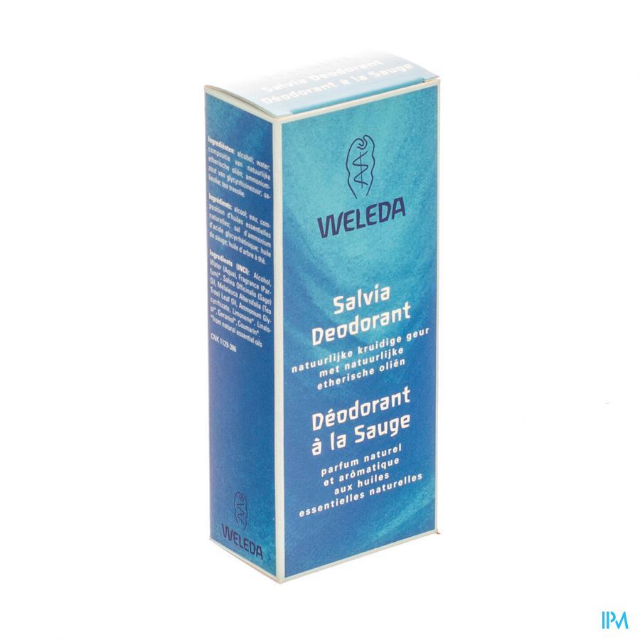 WELEDA DEODORANT SALVIA       100ML