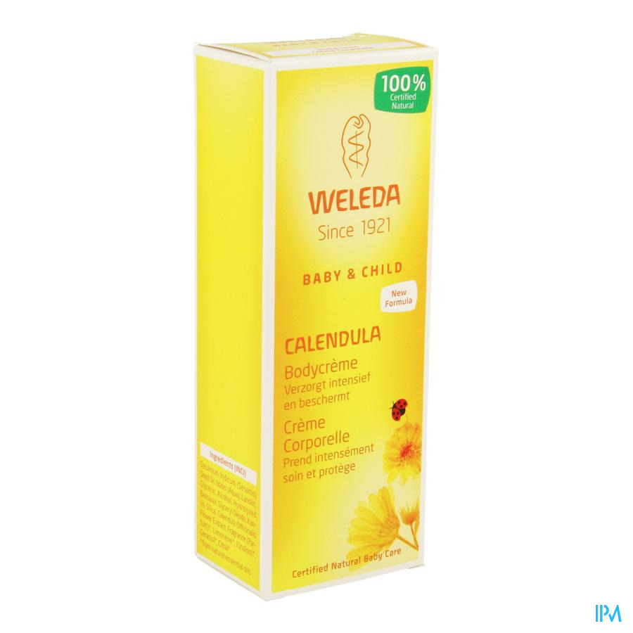 Weleda Calendula Bodycreme Tube 75ml