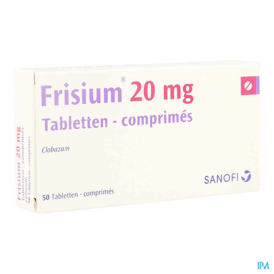 Frisium Comp. 50 X 20mg