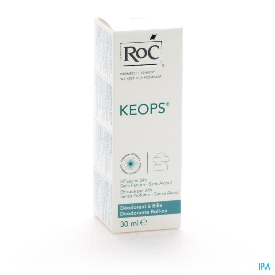 Roc Keops Deo A Bille S/alc S/parf Pn 30ml