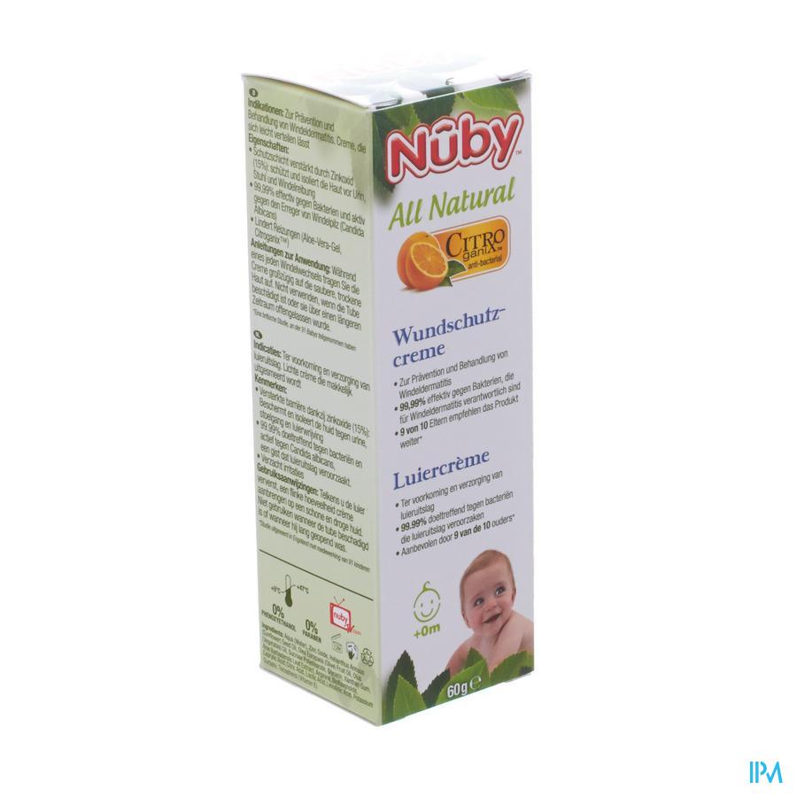 Nuby Citroganix Luiercrème - 60g - 0m+