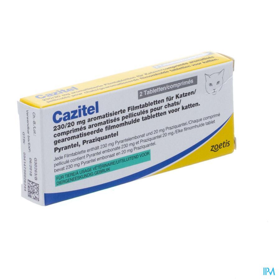 Cazitel 230/20mg Kat Comp 2